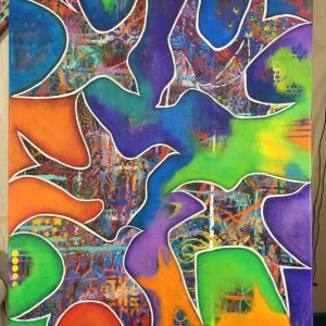 Intuitive Art Orginal Acrylic art